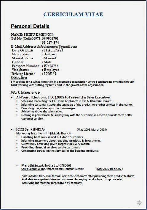 resume examples activities and interests