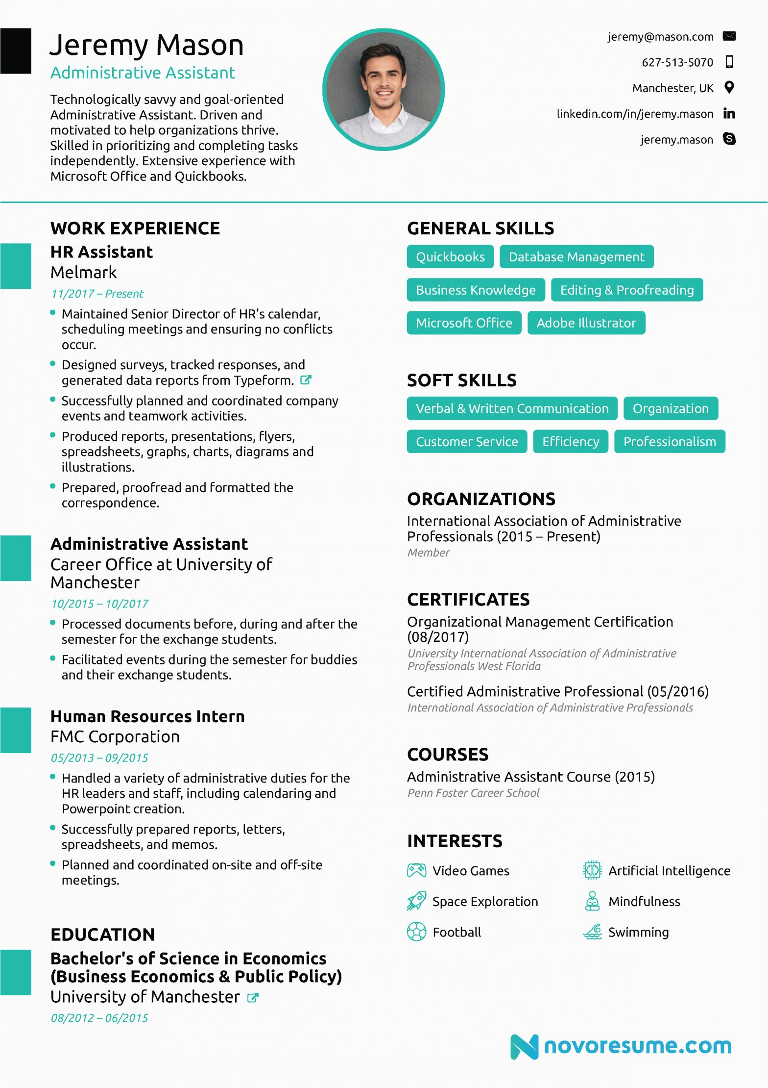 Best Resume Sample for Admin assistant Administrative assistant Resume [2021] Guide & Examples