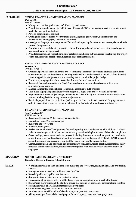 examples of kenyan resume sample