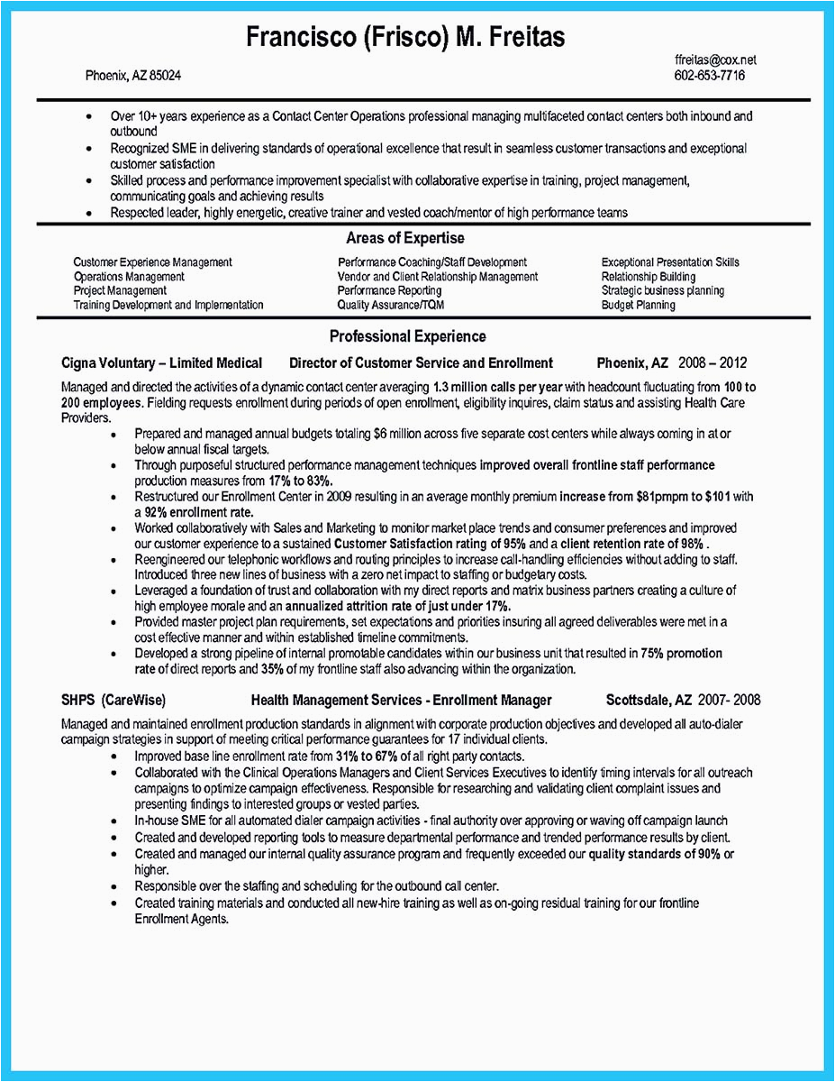Outbound Call Center Agent Resume Sample Impressing the Recruiters with Flawless Call Center Resume