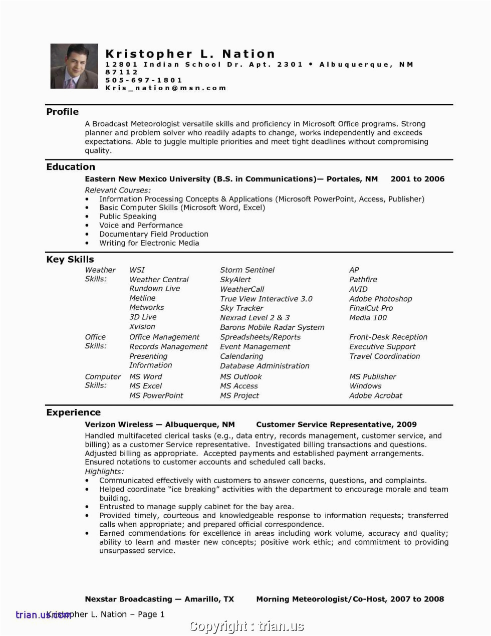 print strong administrative assistant resume