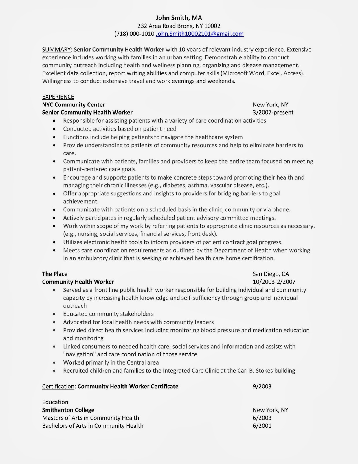 Sample Resume for Aged Care Worker with No Experience 12 13 Cover Letter for Aged Care Worker