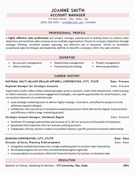 Sample Resume for Experienced Sales Professional Professional Sales Resume Example Clothing Apparel Store