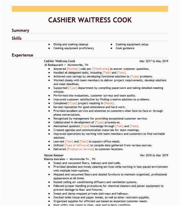 cashier waitress 7be1ad27c9b a44b356c81ed897