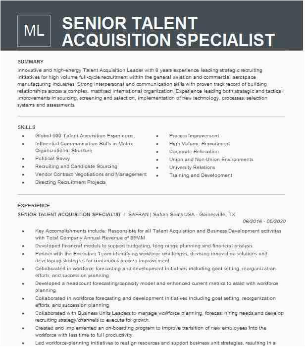 senior talent acquisition specialist c4ea7232f66d4f bd667d8