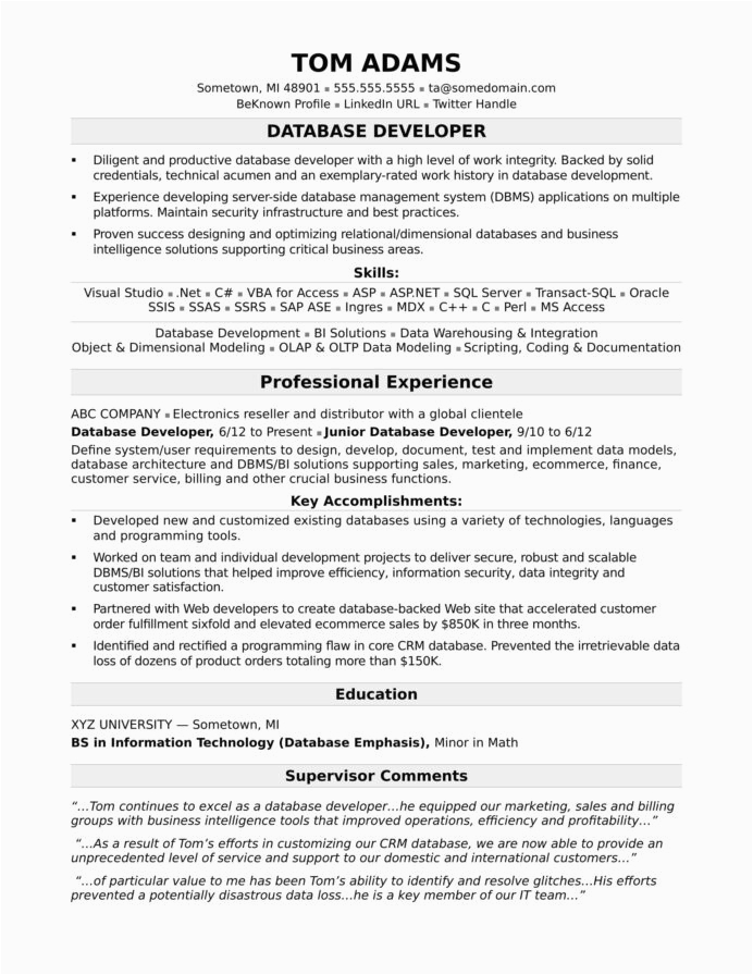 short and engaging pitch for resume u