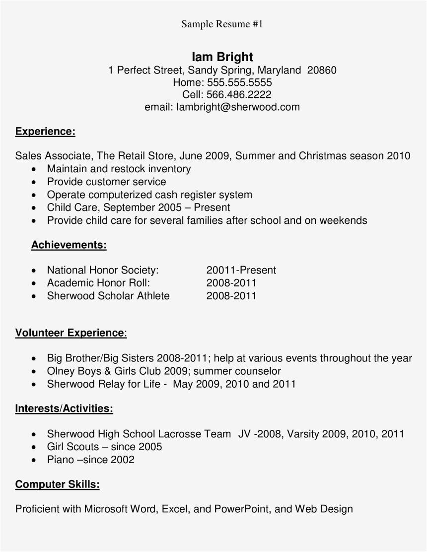 hRmJmwT high school student sample resume main image high