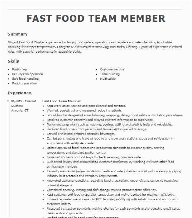 fast food team member 0e a e18acde1804a0a3ea7