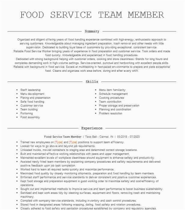 food service team member a5785fd eca2b042c fec