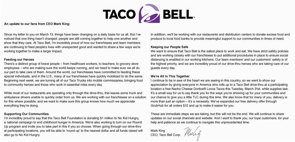 taco tuesday taco bell is offering a free doritos locos taco