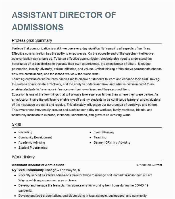 director of admissions 6c6de3a2b1e44acb ebe a6