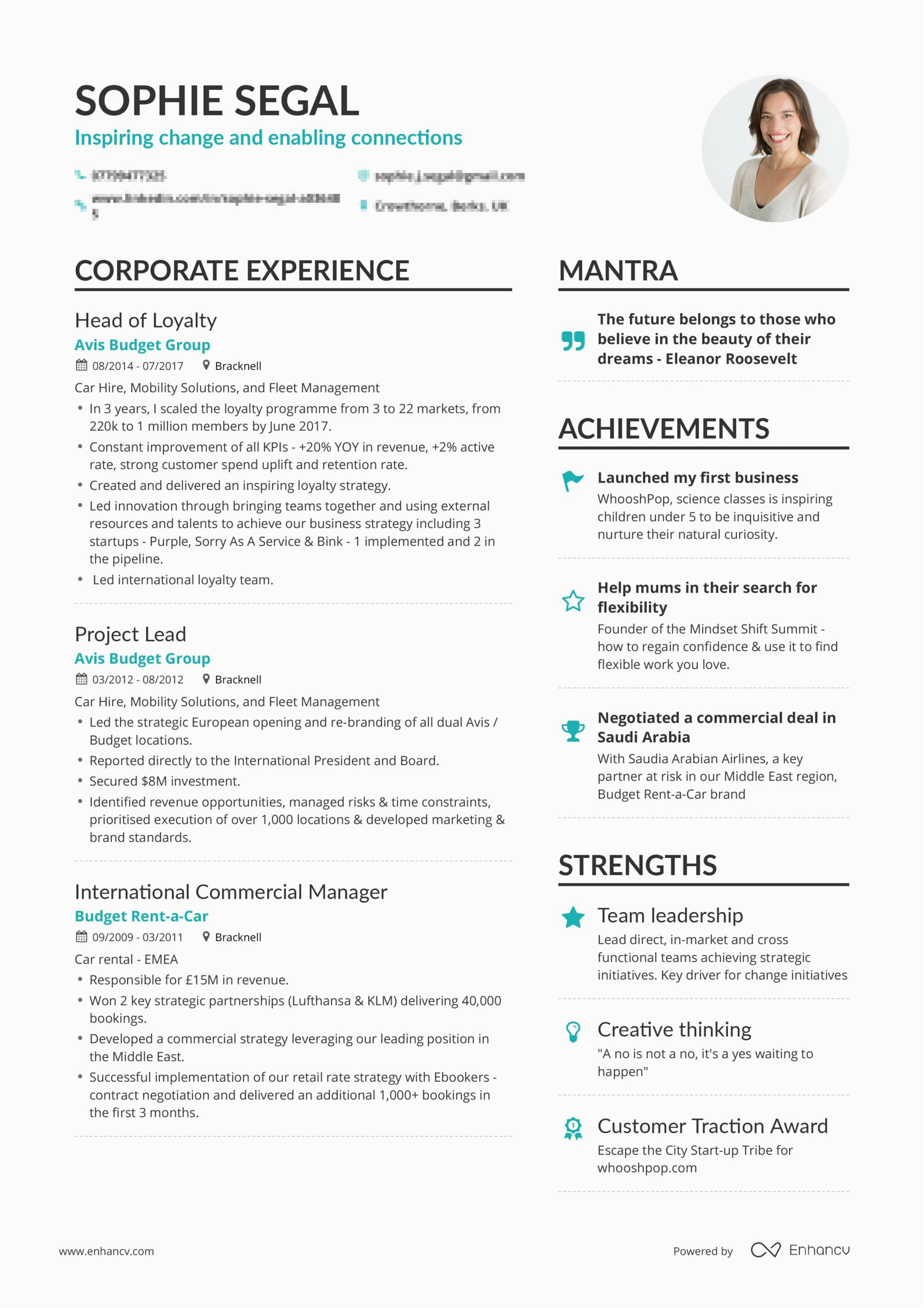 best resume samples for sales and marketing