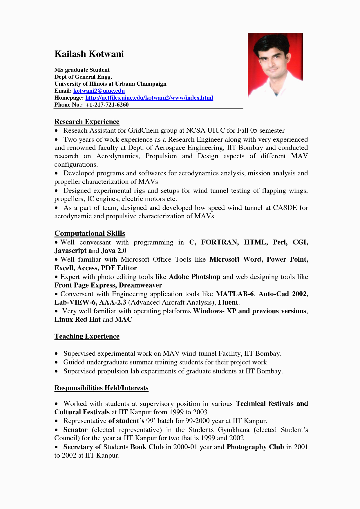 Best Sample Resume format for Experienced Resume with No Experience High School