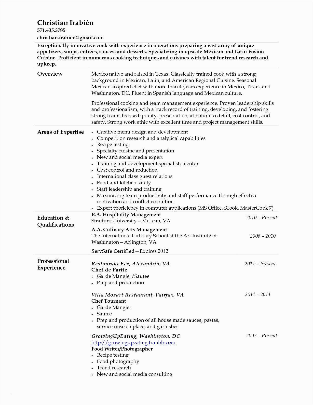 prep cook resume sample is prep cook