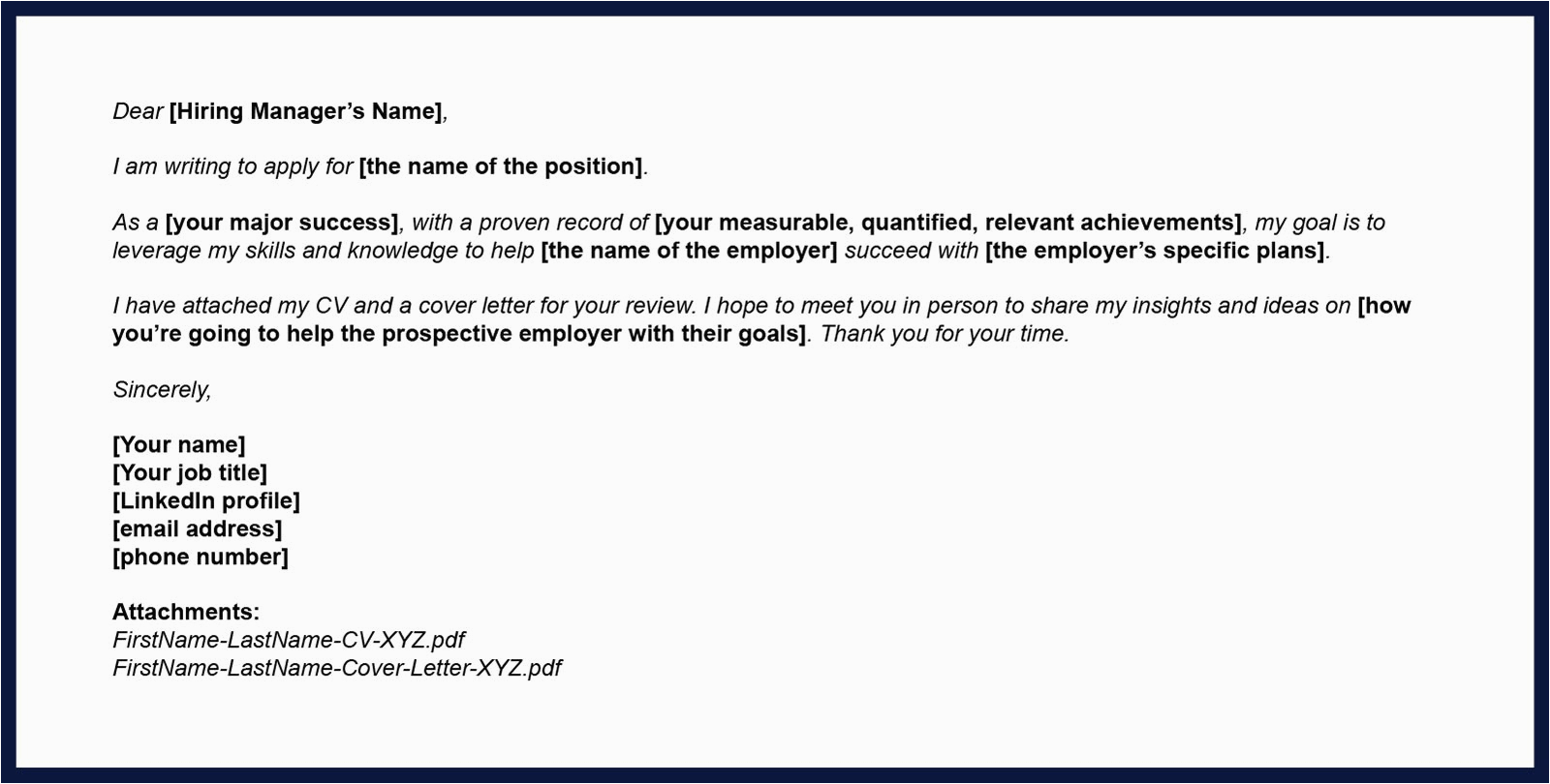 resume email to friend template toolbox