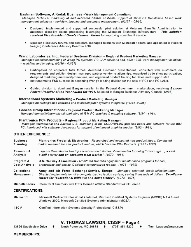 identity and access management resume
