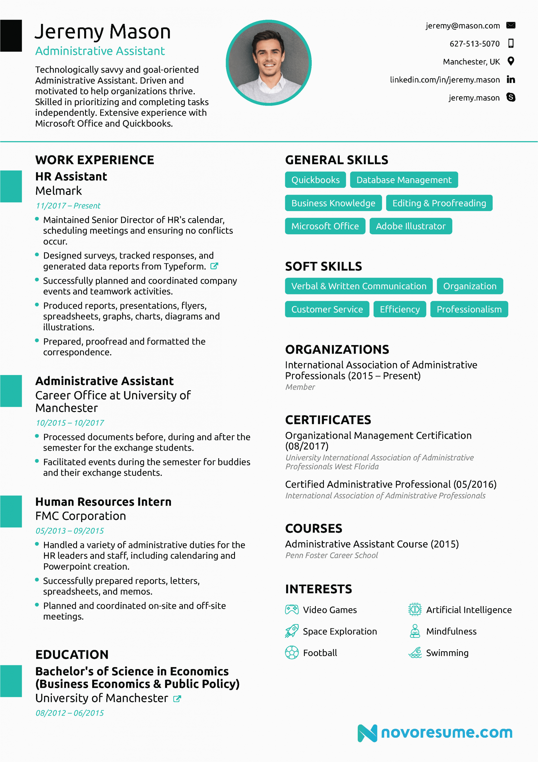 hobbies and interests to put on a resume