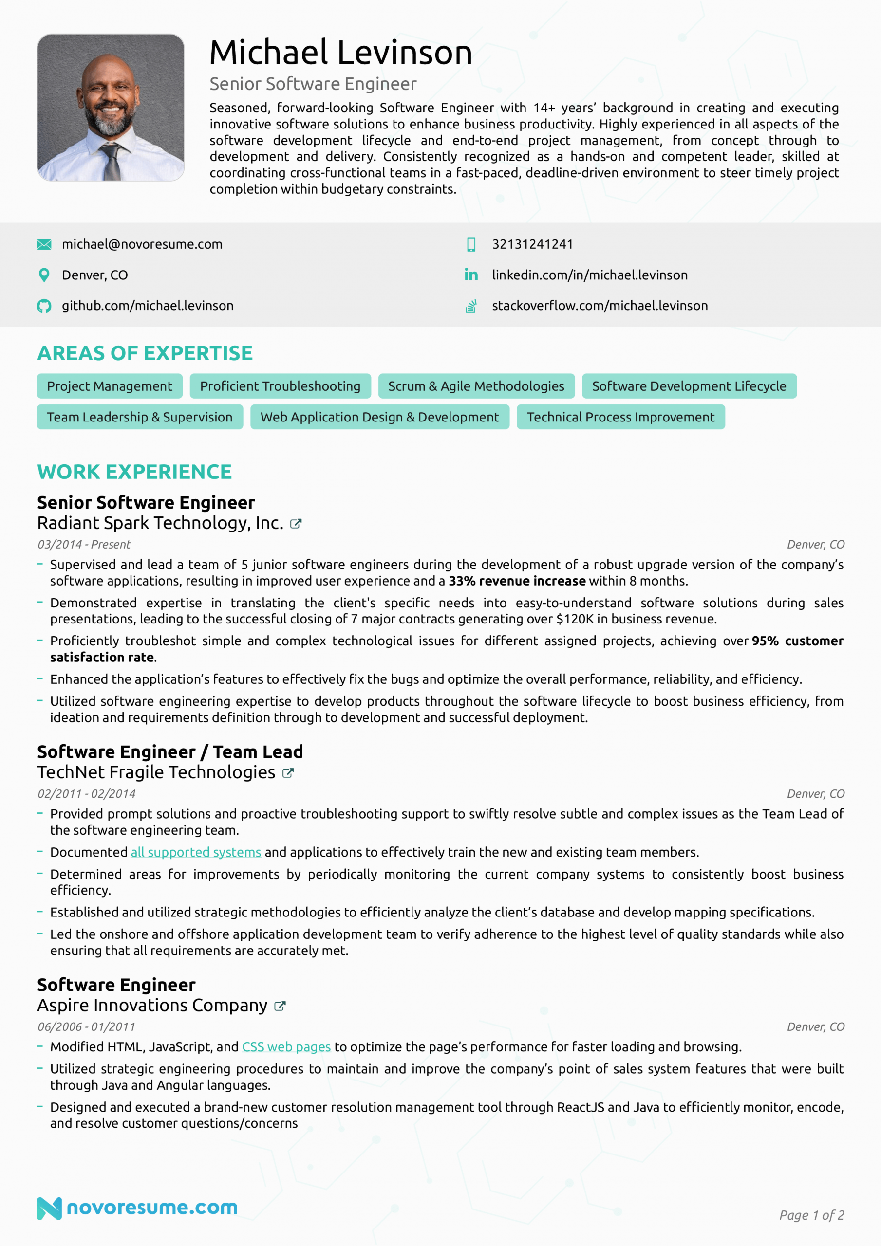 Professional Resume Samples for software Engineers software Engineer Resume Example How to Guide for 2020