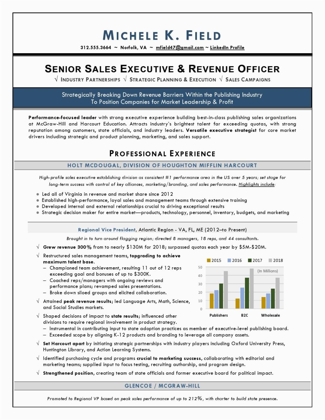 Regional Vp Of Sales Sample Resume Regional Vp Sales Sample Resume