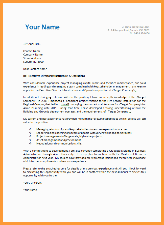 9 10 it professional cover letter examples
