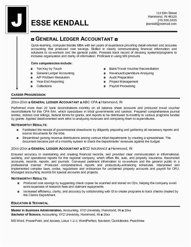 accounting resume samples 2017