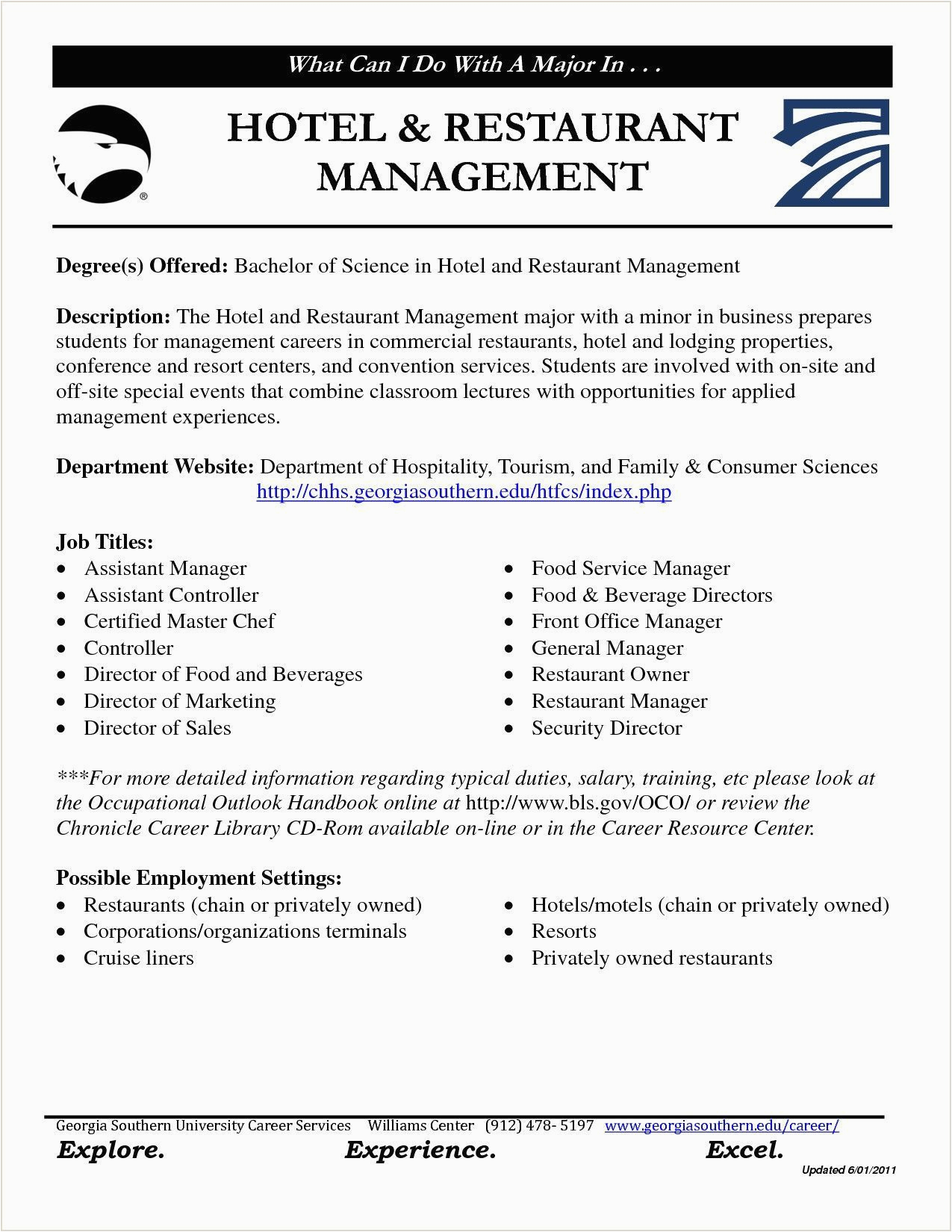 resume format in word for hotel management fresher