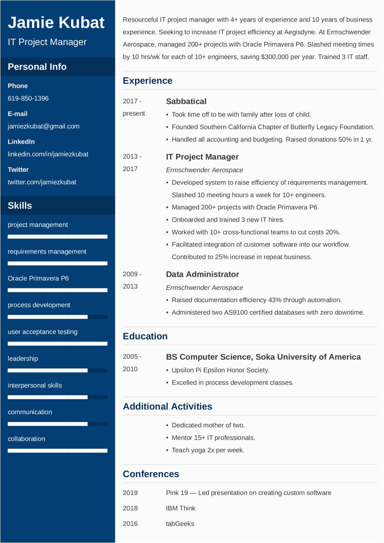 Sample Resume Explaining Gaps In Employment How to Explain Employment Gaps On Resumes [25 Tips]
