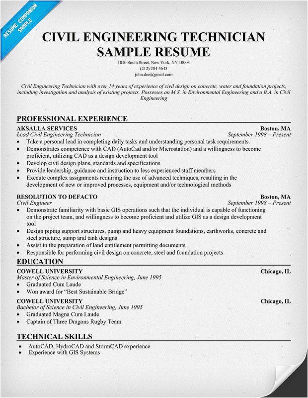 civil engineer fresher resume pdf