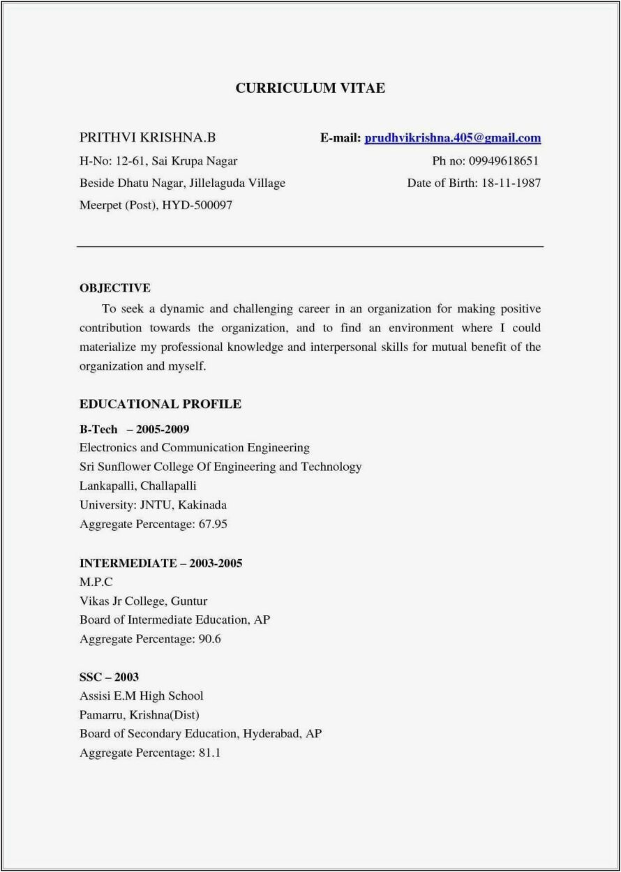 resume of civil engineer fresher pdf