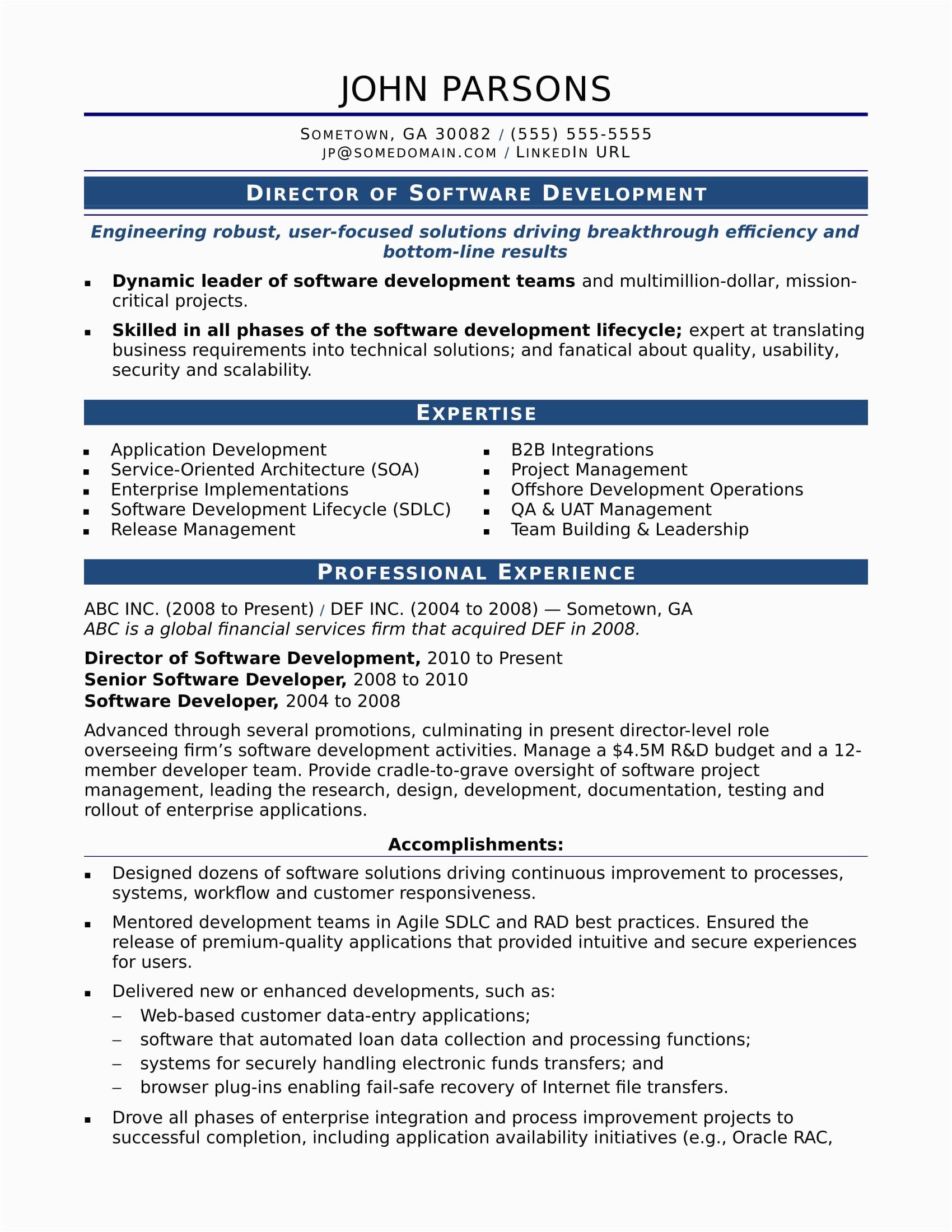 Sample Resume for Experienced Ui Developer Free Download Sample Resume for An Experienced It Developer