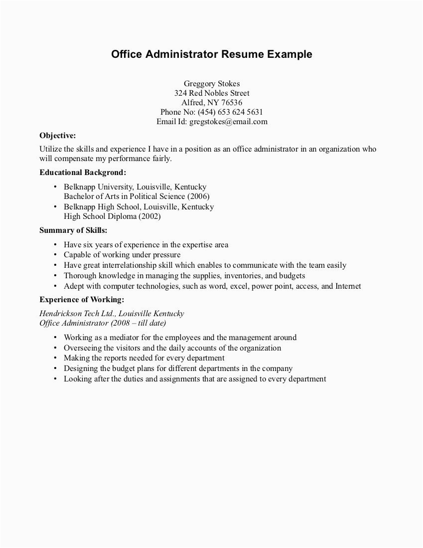 resume writing for high school student volunteer 640