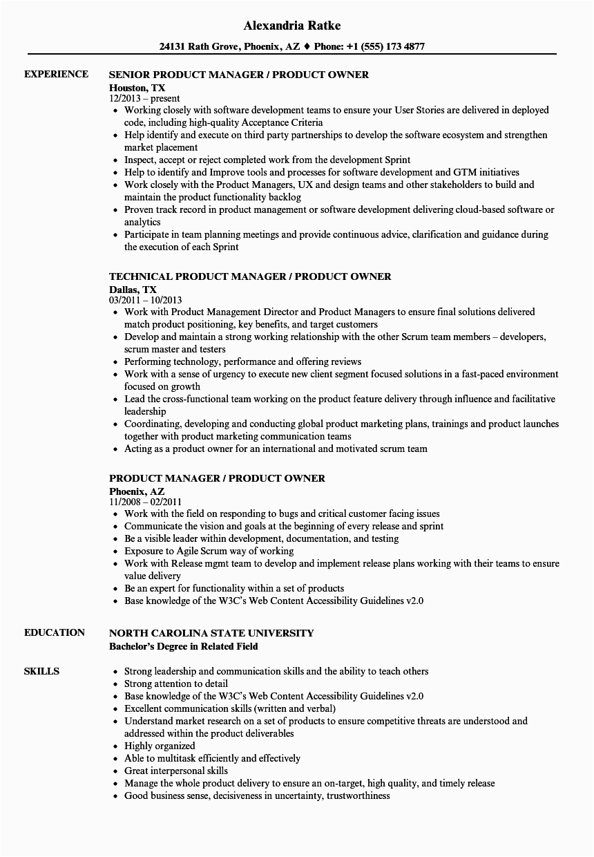 example resume for non technical jobs