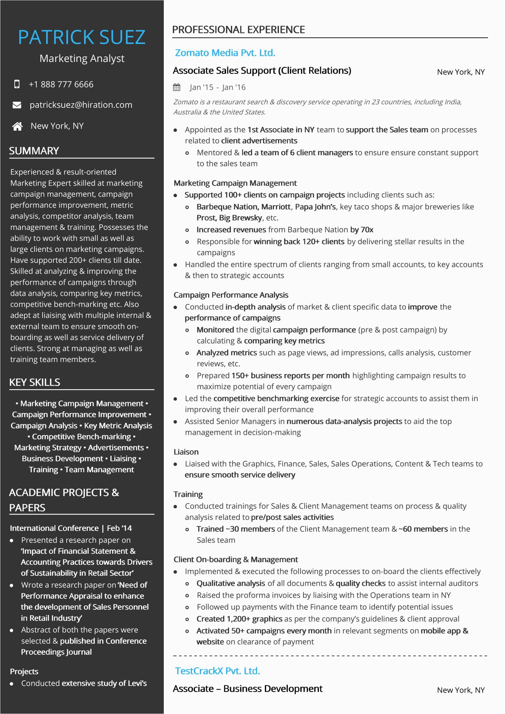 sales marketing resume samples velvet jobs
