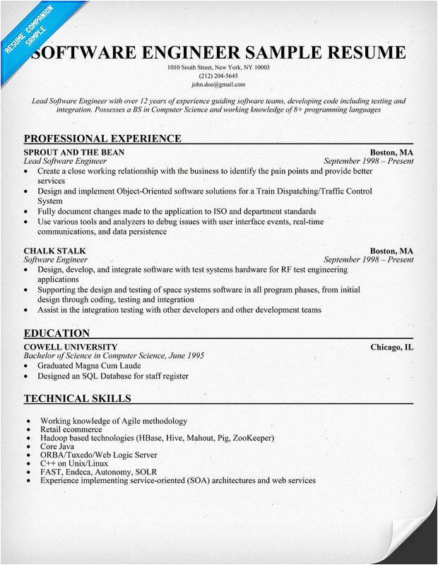Sample Resume for software Engineer with 4 Years Experience software Test Engineer Resume 4 Years Experience Best
