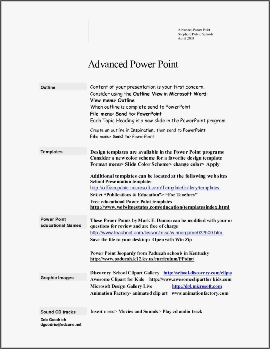 sample resume format doc