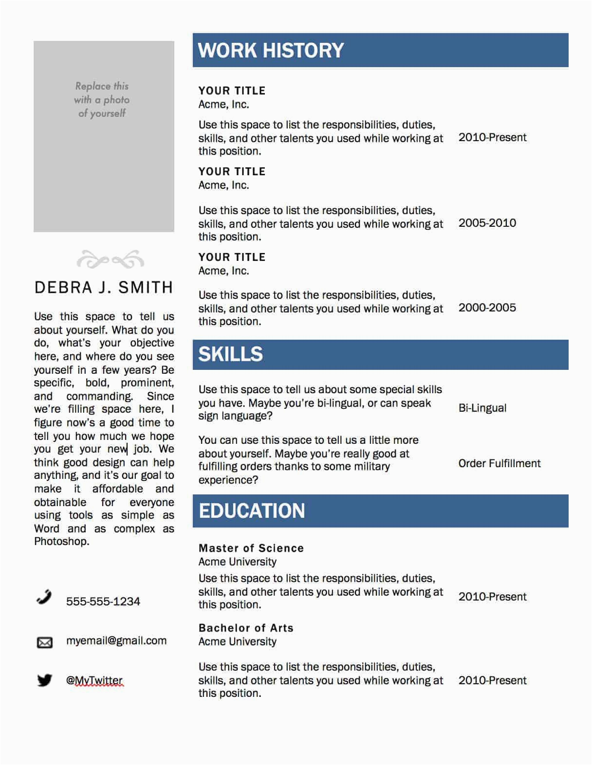 Sample Resume format Download Ms Word Free Microsoft Word Resume Template — Superpixelsuperpixel