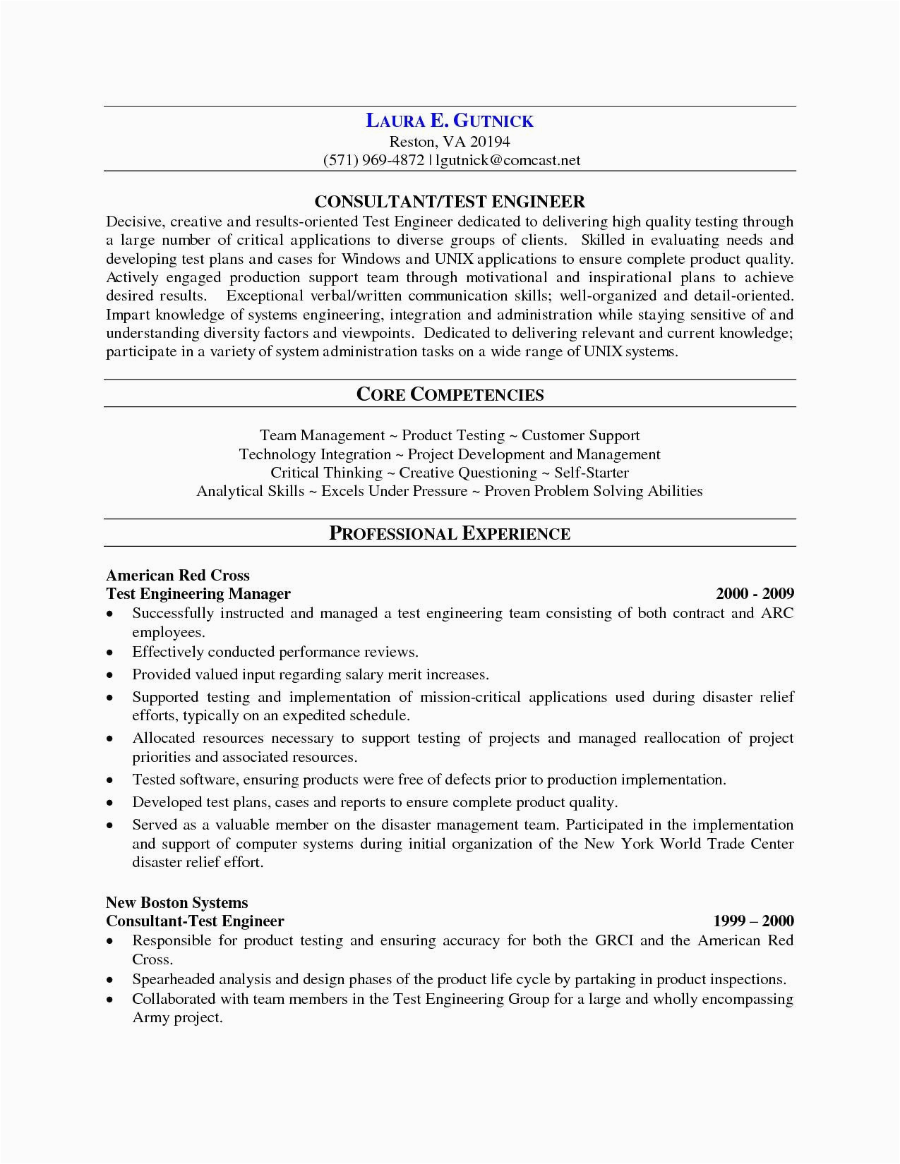 Software Testing Resume Samples for 2 Years Experience Sample Resume for software Tester 2 Years Experience
