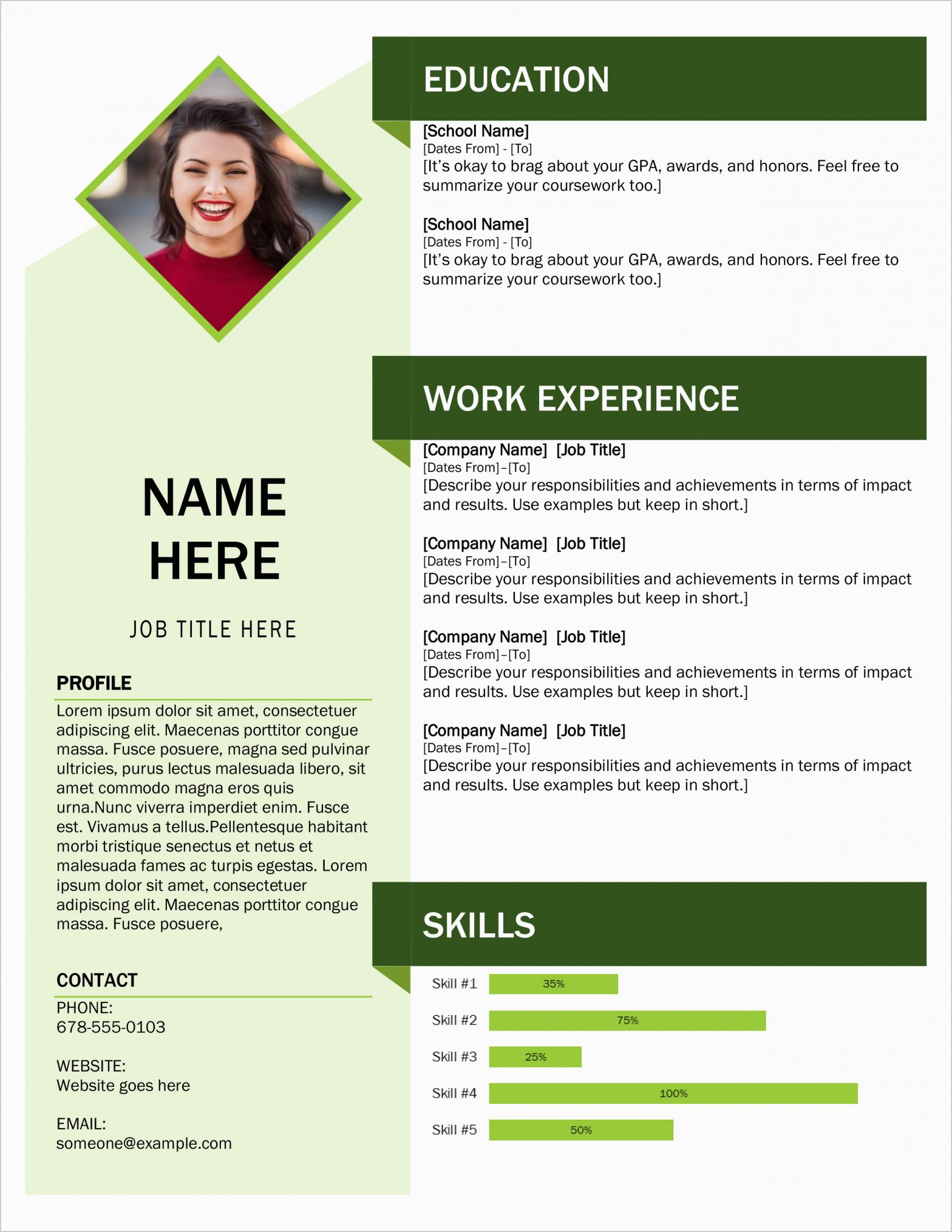 Download Free Microsoft Office Resume Sample Cv Template 45 Free Modern Resume Cv Templates Minimalist Simple