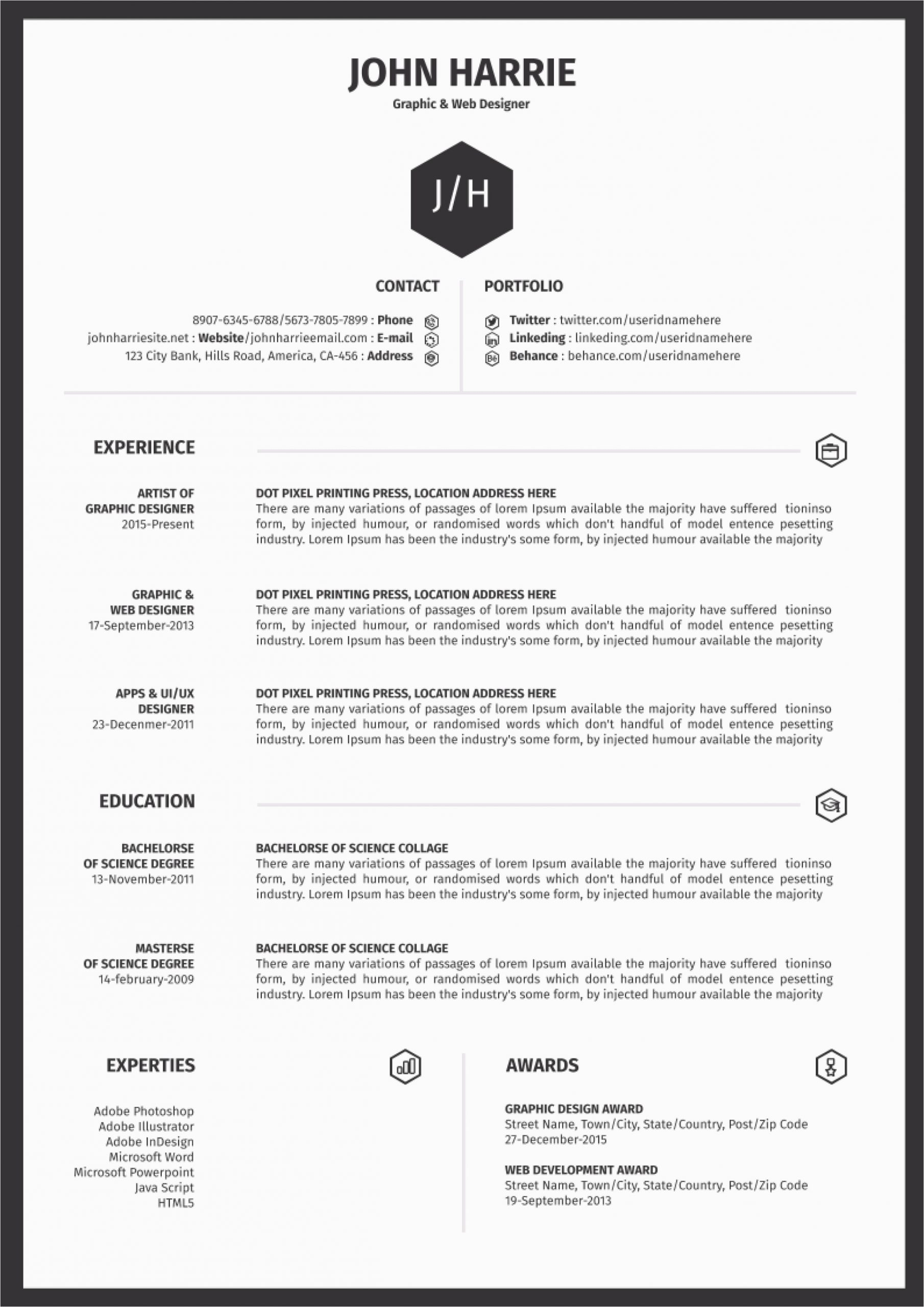 free microsoft office resume sample and cv template