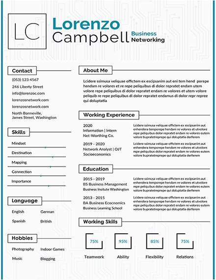 simple fresher resume templates