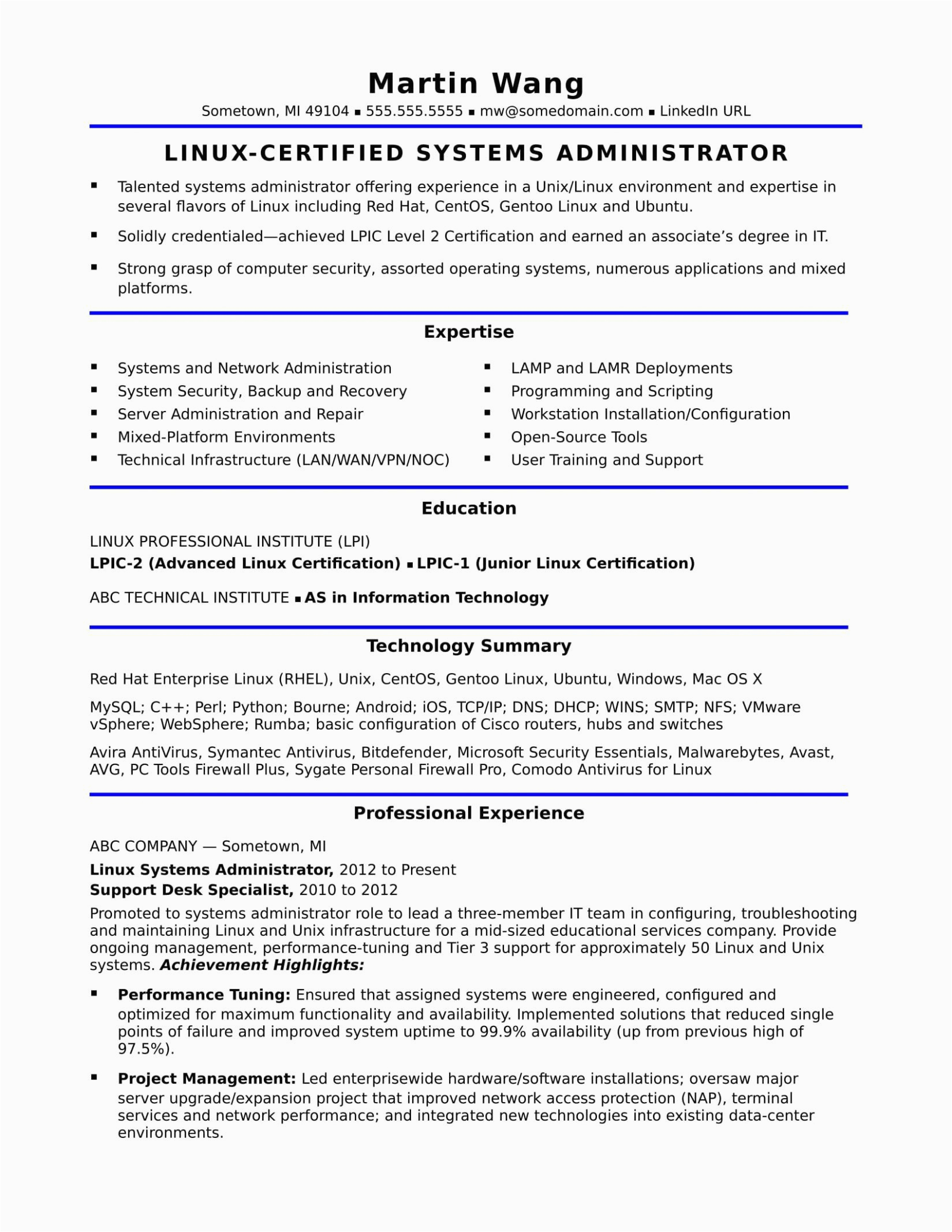 It Hardware and Networking Resume Samples Hardware and Networking Fresher Resume format