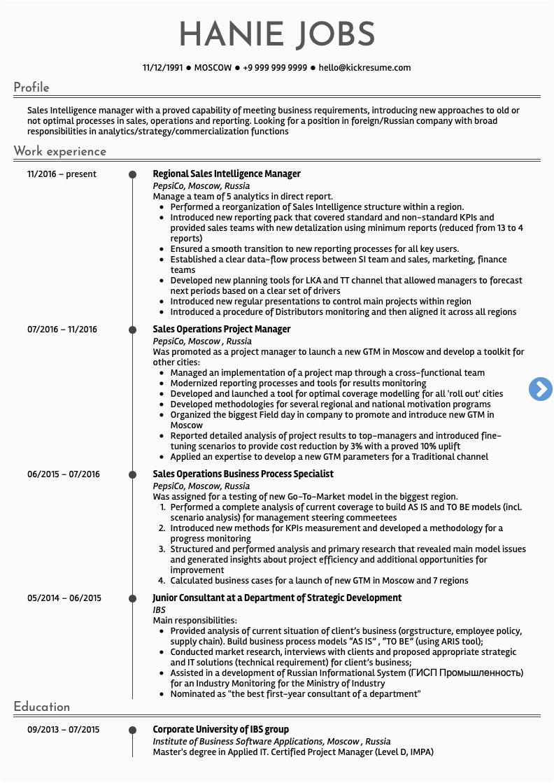 10 sales resume samples