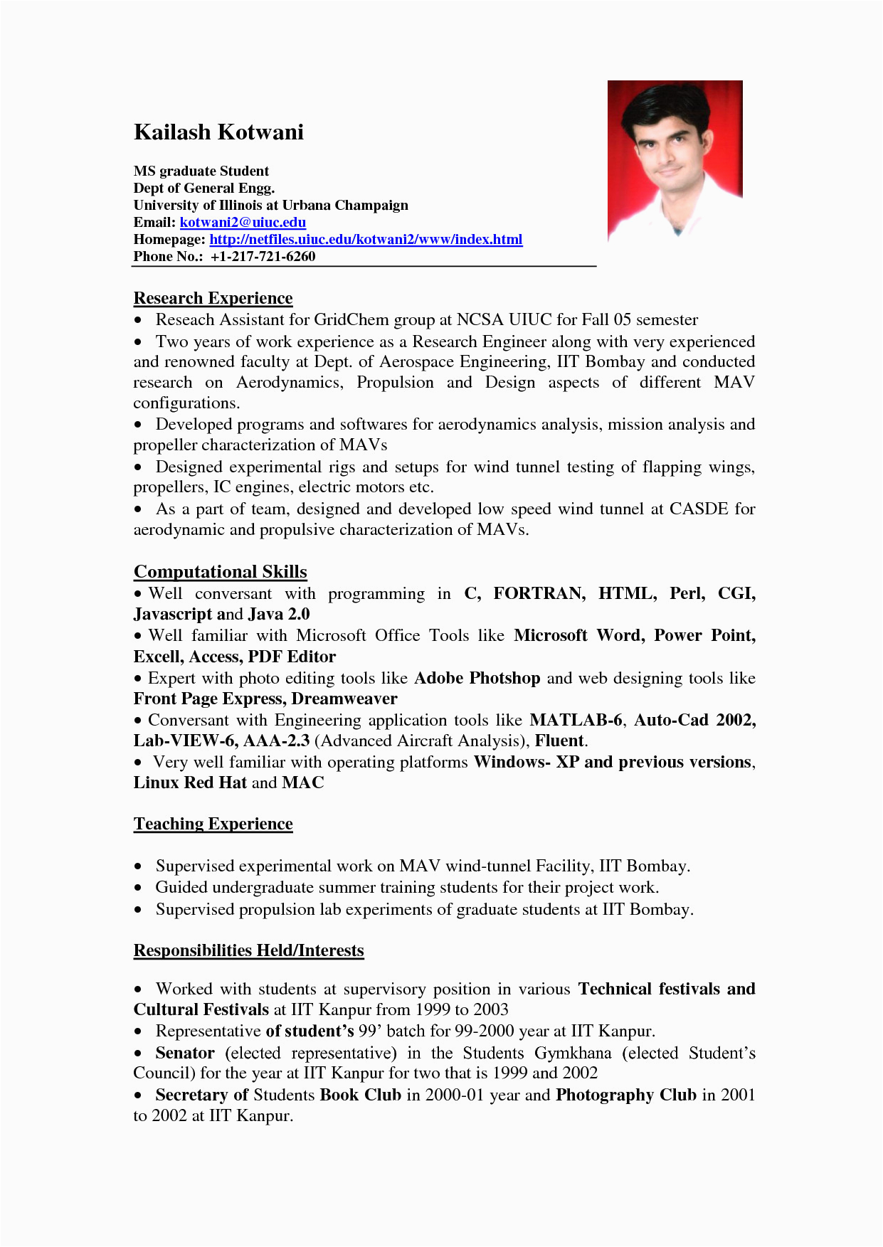 It Student Resume Sample No Experience Sample Resume for It Student with No Experience