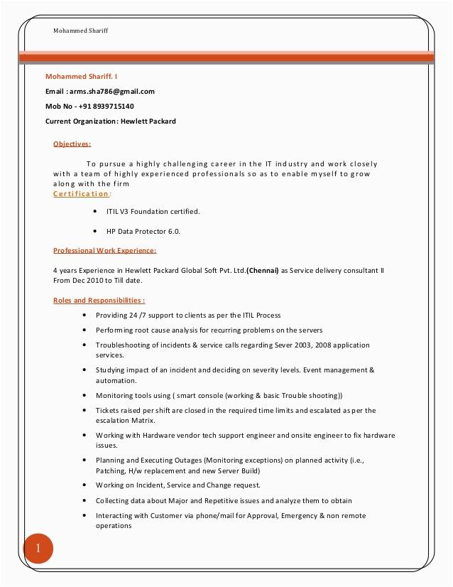 itil v3 foundation certification logo for resume
