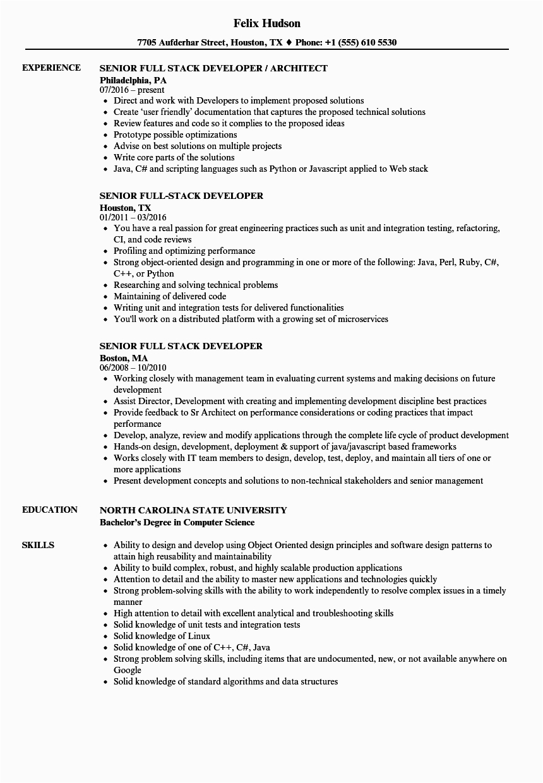senior java developer resume j2e