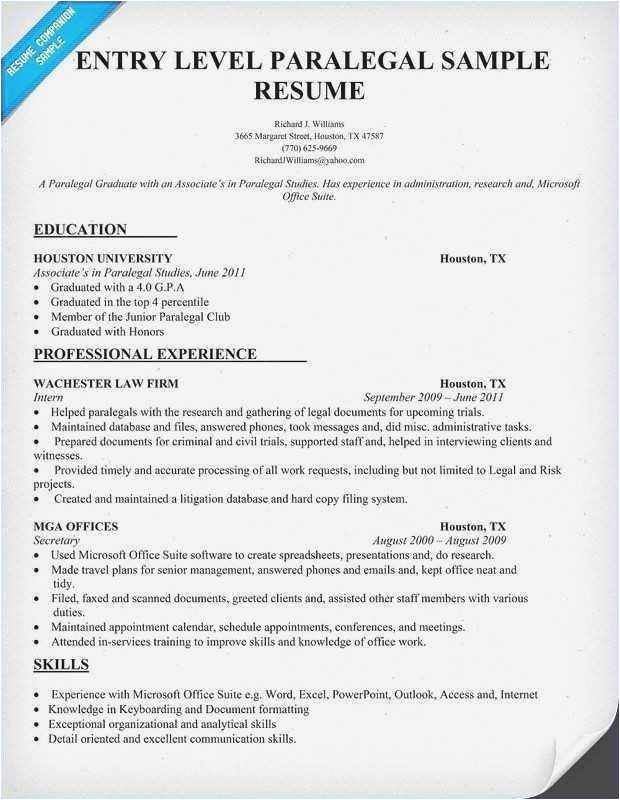 criminal justice resume
