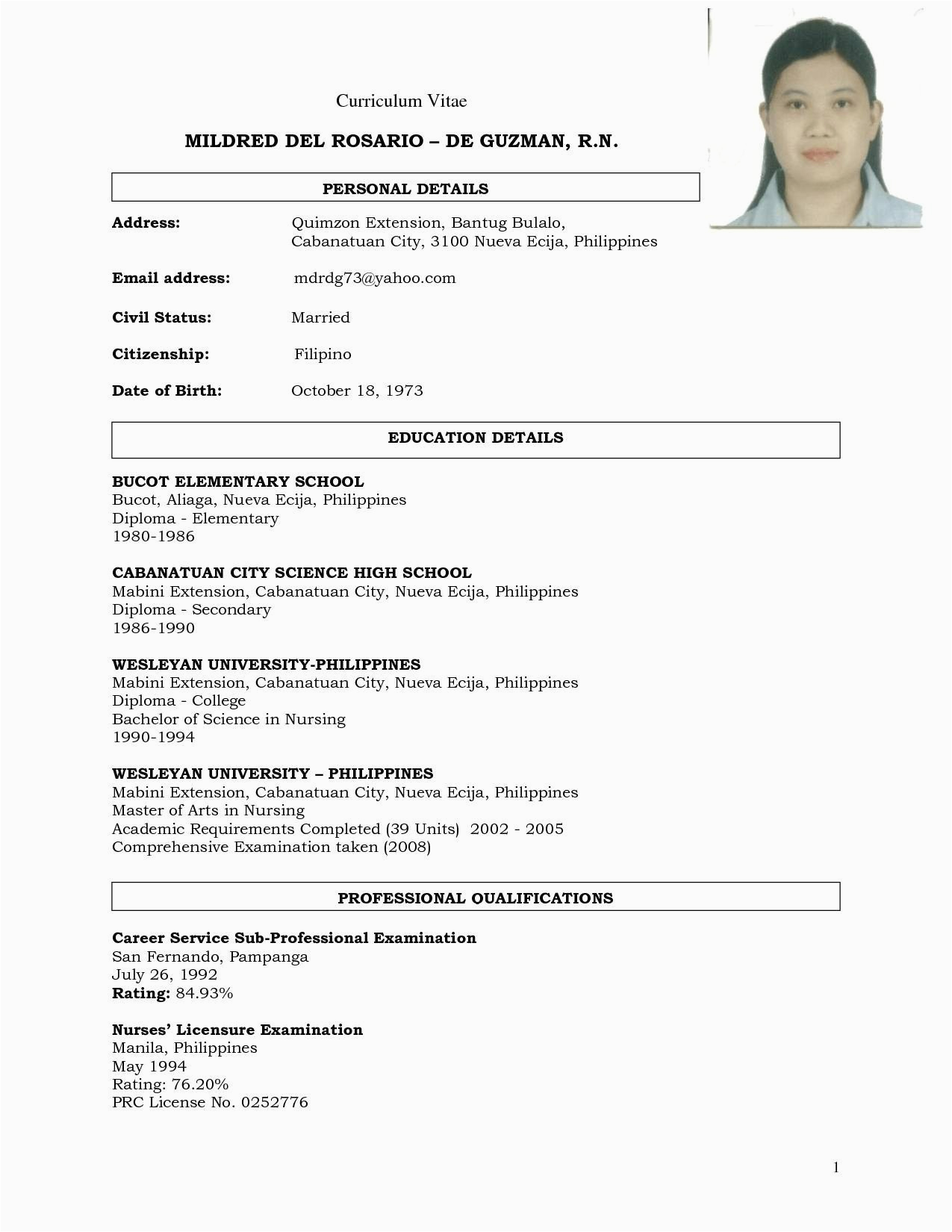 Resume Sample Philippines High School Graduate 8 9 Resumes for High School Graduates Aikenexplorer