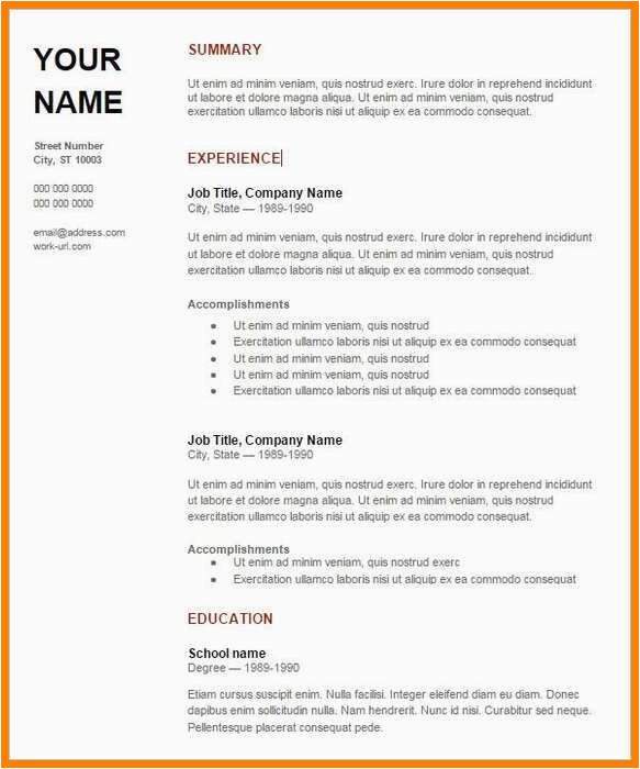 best resume format for fresher doc sample freshers