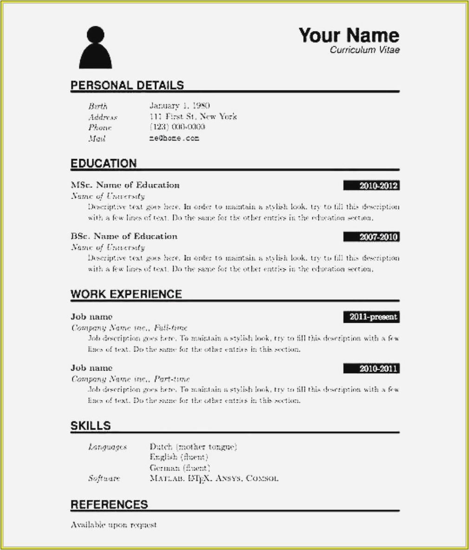 Resume Samples Doc Download for Freshers Sample Resume format for Freshers Doc Download Resume