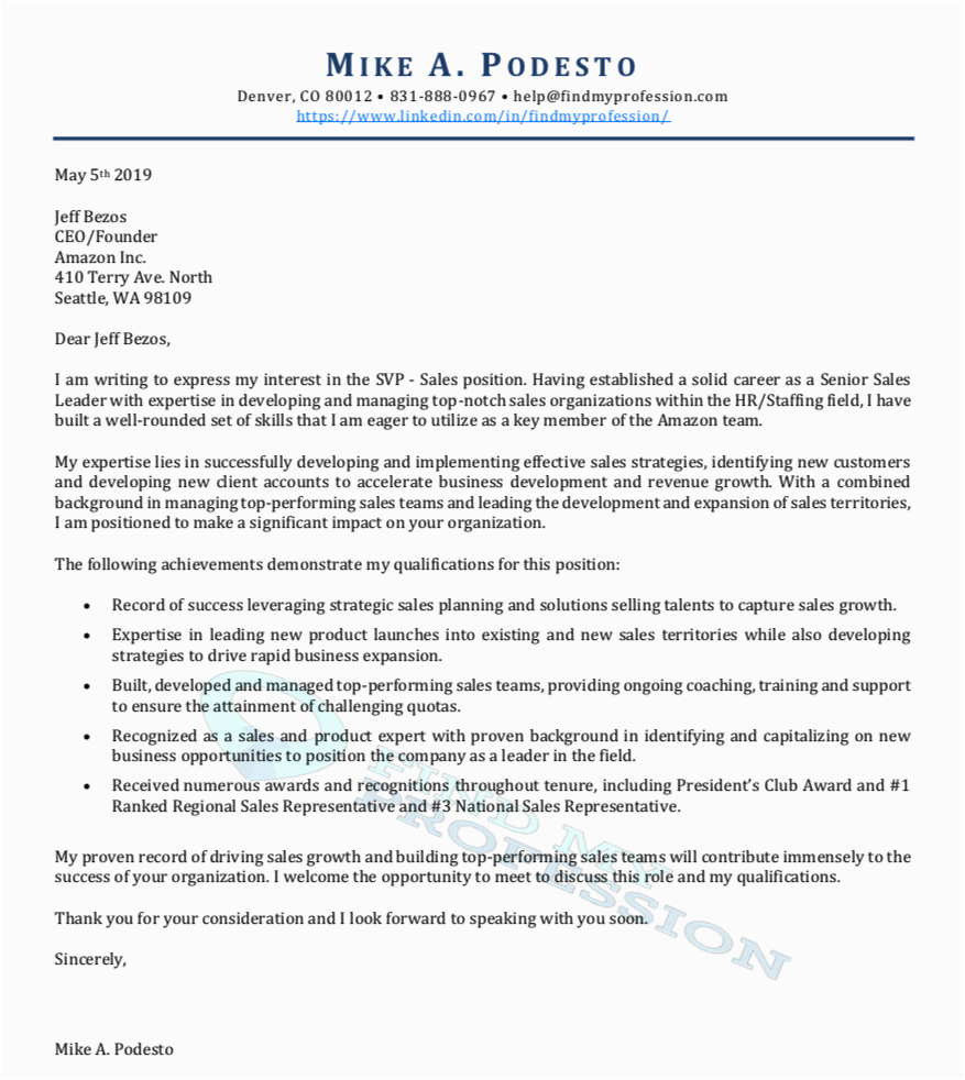 cover letter writing services